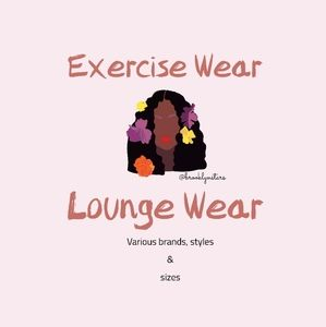Active Wear and Lounge Wear various sizes